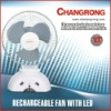 CR-1038B Rechargeable emergency light Fan
