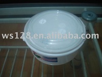 White Food Storage Containers