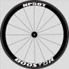 Painting designs for Racing Road Bike Wheel set YS-NP50T 50mm tubular carbon wheels