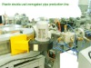Plastic double-wall corrugated pipe production machine