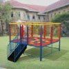 10~16sqm Big Rectangular Trampolines with safetynet