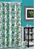 Bathroom polyester waterproof fabric shower curtain