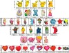 2013 Dinosaurs qiaqiu Garden baby Sesame street Heart soft pvc shoes charms soft plastic shoes decorations pins