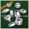 2012 the most fashionable crystal flat back sew on glass beads