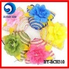 2012 small straw beach bag with flower/straw coin bag