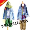 2012 Latest Design Fashion Children Autumn&Winter Denim Jean Jackets(JFZM162)