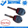 Cut Key Remote is for VW Golf Car,Remote Car Key with Transponder chip,433mhz working frequency.