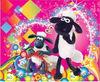 Shaun The Sheep PVC Sticker for School Bag