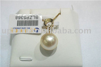 sea water pearl pendant with golden chain and fashion style pearl jewelry
