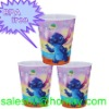 BPA free PP 3D plastic cartoon kid's plastic water cup