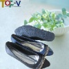 PU ladies 2013 new design flat shoes