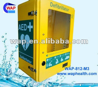 Waterproof medical offiece defibrillator aed cabinet