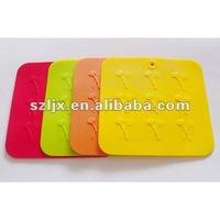 FDA/ LFGB fancy food grade clear silicone mats