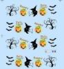 Halloween nail sticker