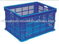 Made of PE plastic turnover box