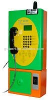 wall mount coin payphone , GSM network access(Guanri model: W897 )