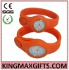 Fashion Silicone Button Watch 2012