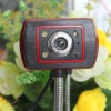 With microphone USB 4 LED Webcam