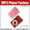 Hot sale!! mp3 factory wholesale price,New cheap mini clip mp3 player.New design