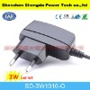 mini wall mount portable mobile charger for EU with high quality,input 90~264v,output 3~12v 3w max