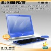 "Hot ,Hot !!! touch 18.5"" pc all in one ,all in one pc (YF-AIO-1801)"