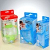 Baby products clear packaging boxes