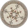 Stone mosaic pattern