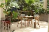 Outdoor Furniture Bamboo Like Garden Set