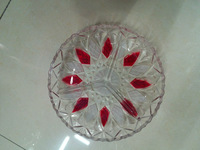 Glass Plate colourful