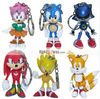 6x The HEDGEHOG Super Sonic Characters PVC Figure Loose set A38