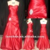 2012 Red Bridal Satin Bridemaid Dresses#9407
