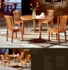 swivel folding wooden furniture dining table