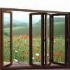 Aluminum profile for casement window