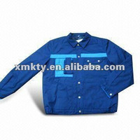 Men Cotton Polyester Work Jacket