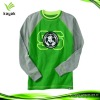 New design fashionable green hoodies for promotional