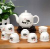 Ceramic chinese customer style Tea Set