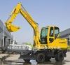 Hydraulic wheel excavator price