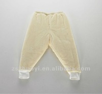 kids plain color trousers, kids jacquard trousers, no pocket trousers