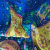digital printing of 100 silk fabric double sided silk satin fabric scarf silk fabric