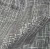 10% Polyester 50% Linen 40% Cotton Blended Woven Plain Dyed Curtain Fabric