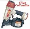Heavy duty professional air coil nailer CN45