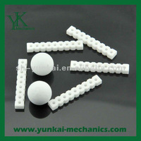 Alumina Ceramic custom parts, electronic equipment heat conductivity parts