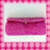 the Retro Rice Pearl Cosmetic lipstick case with mirror for promotional