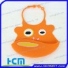 hotselling animal shape rubber bibs for toddlers