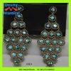 oversize design long drop bling bling rhinestone chandelier rhienstone earrings