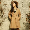 Big fan bath robe type ladies cashmere cloth coat 2012