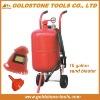 10 gallon 38L portable sand blasting machine,sandblaster, sand blasting machine