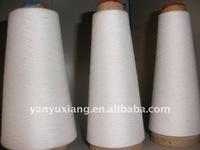 27s recycle 100% polyester ring spun yarn