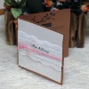 Debut wedding invitation cards with words -- EA821