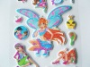 2012 Newest style of 3D Cartoon designs Puffy Sticker for Children play